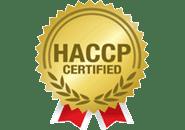 Haccp certified Logo