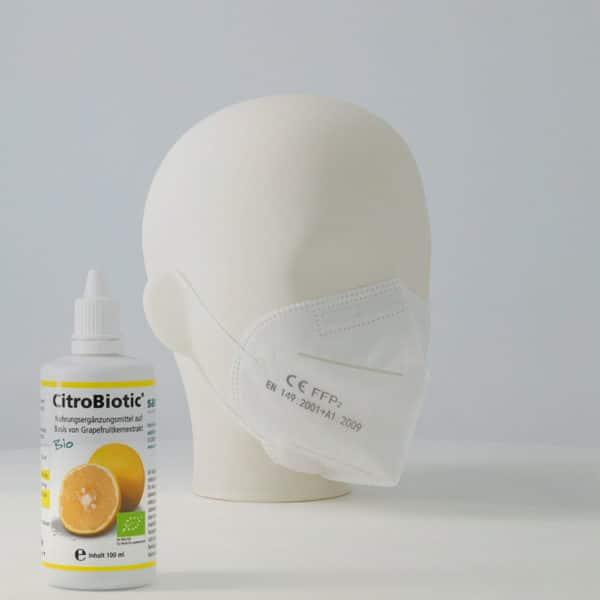 Masken Kopf Caesaro-med Citobiotic Corona Aktion